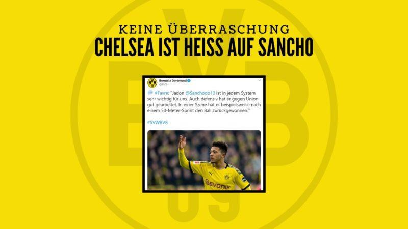 Verlässt Jadon Sancho den BVB in Richtung Heimat?