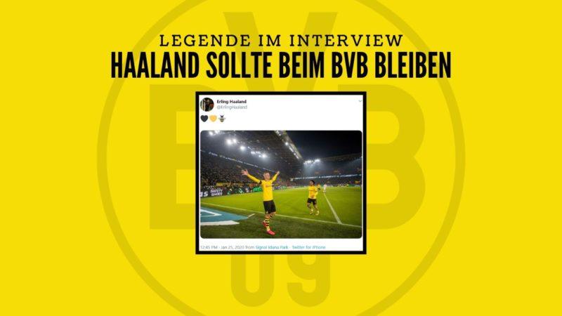 Norwegen-Legende: Haaland sollte beim BVB bleiben
