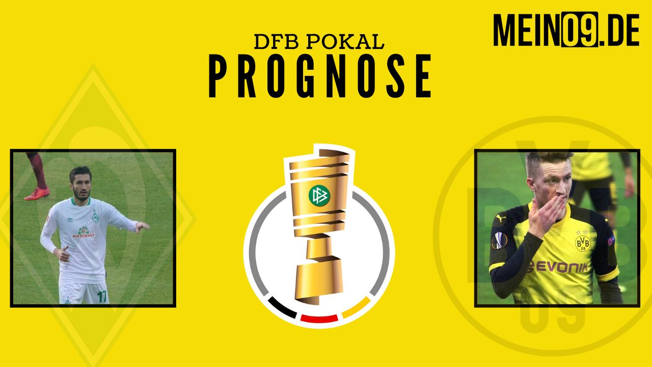 Glückt die Revanche? – Borussia Dortmund gegen Werder Bremen – DFB Pokal Prognose