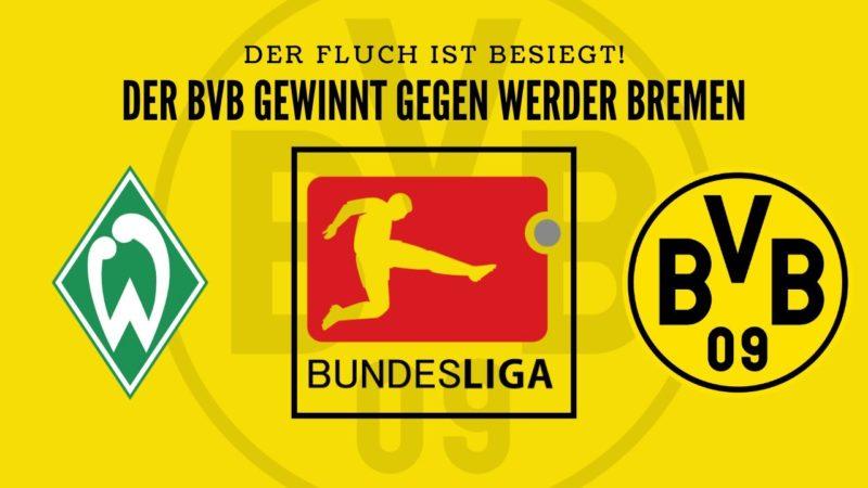 BVB besiegt Bremen-Fluch – Ist der BVB endlich konstant?