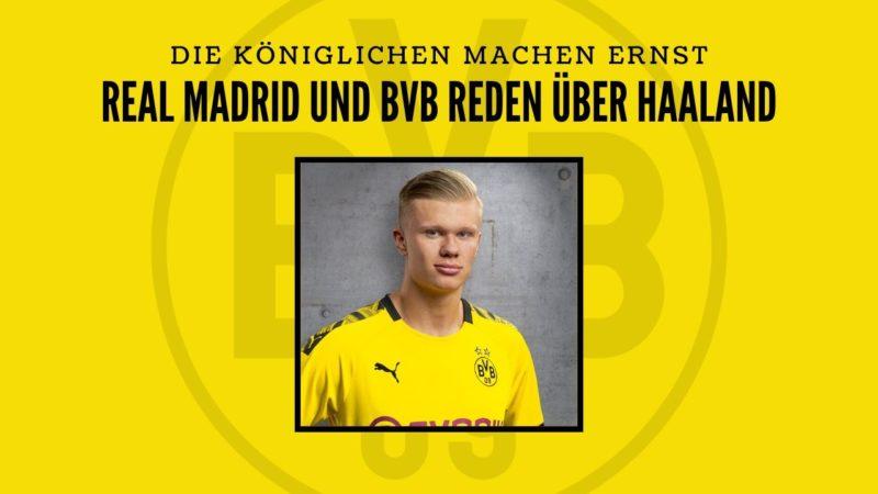 Real Madrid führt mit BVB Gespräche über Erling Haaland