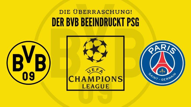 BVB beeindruckt PSG – Die Überraschung ist perfekt!