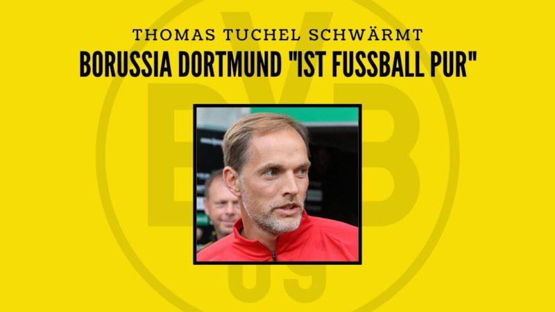"Thomas Tuchel schwärmt: BVB ""ist Fußball pur"""