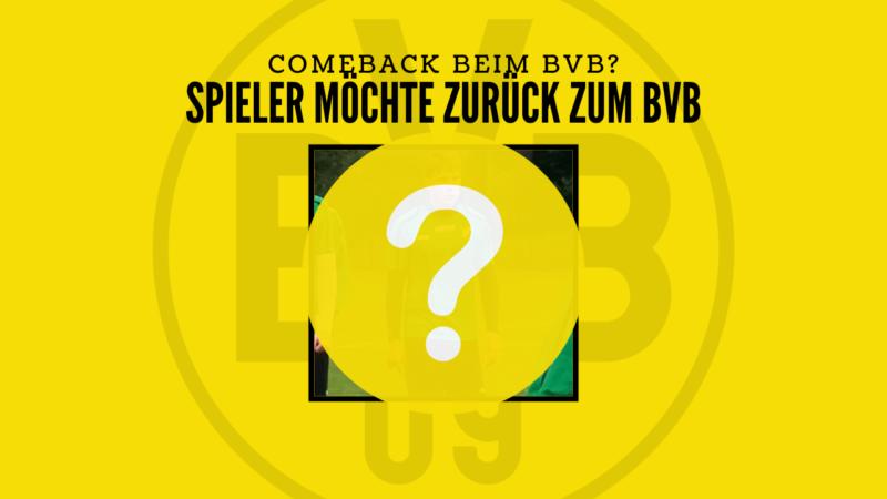 """Ex BVB-Spieler: """"Eine Rückkehr zum BVB wäre das i-Tüpfelchen"""""""