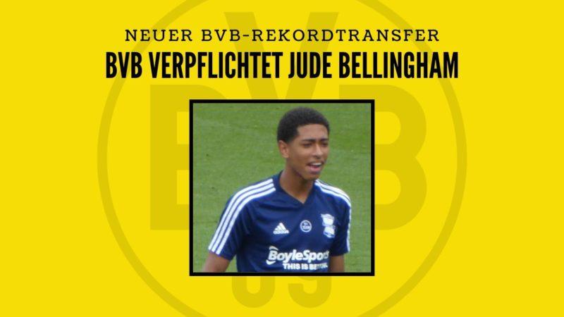 BVB verpflichtet Jude Bellingham – Alle Informationen zum neuen Rekordtransfer