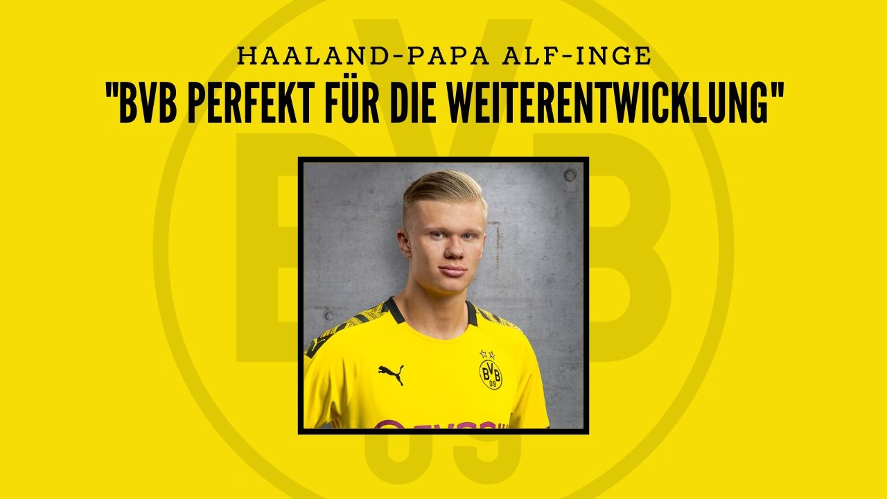 """Haaland-Papa: """"BVB perfekt für die Weiterentwicklung"""""""