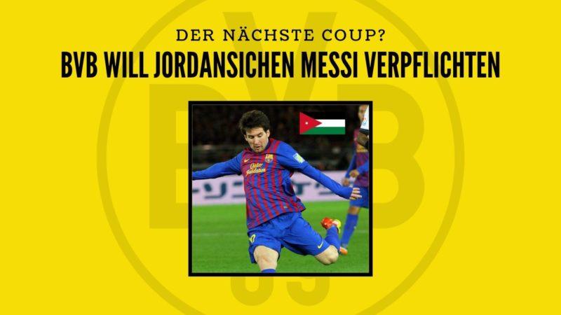 """Als Sancho Ersatz? BVB möchte """"jordanischen Messi"""" verpflichten"""