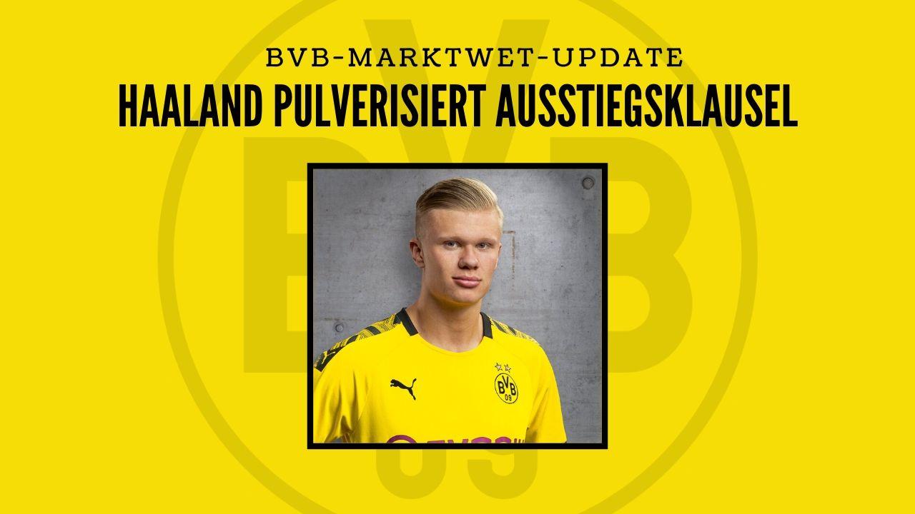 BVB-Marktwert-Update – Haaland pulverisiert Ausstiegsklausel
