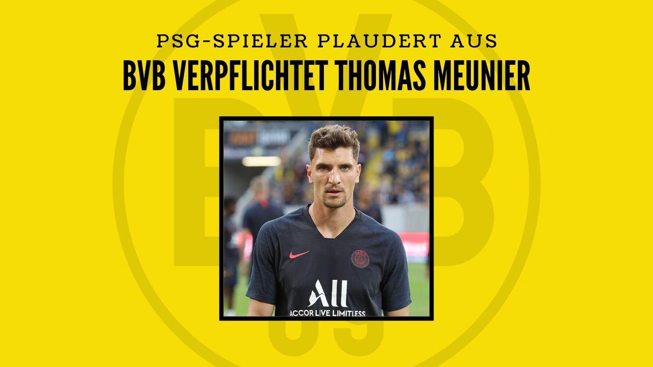 Wechsel perfekt! PSG-Verteidiger Meunier wechselt zum BVB!